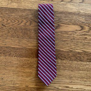 *EUC* Brooks Brothers Makers Red Stripe Tie